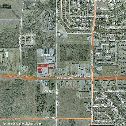 Land For Sale, I-20 at Robinson, Grand Prairie TX, 75051